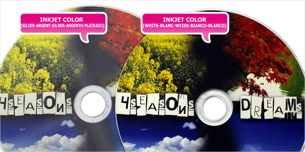 CD Printing Inkjet Full Color